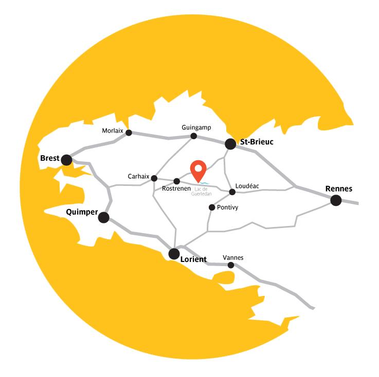 Carte de localisation de BonRepos